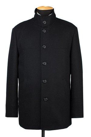 07-0175 Пальто мужское утепленное сукно черный