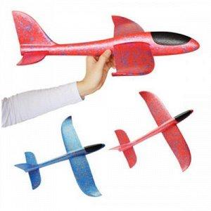 Самолет из пенопласта diy toy 35 см