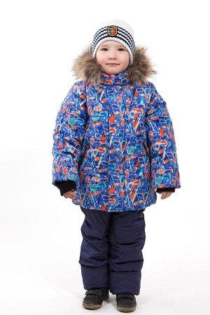 Куртка зимняя для мальчика, синтепон 300 гр
