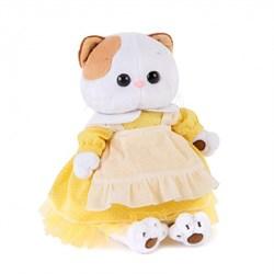 Кошечка Ли-Ли в желтом платье с передником. 24 см