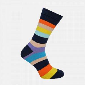 Носки мужские Crazy Sock темно-синий