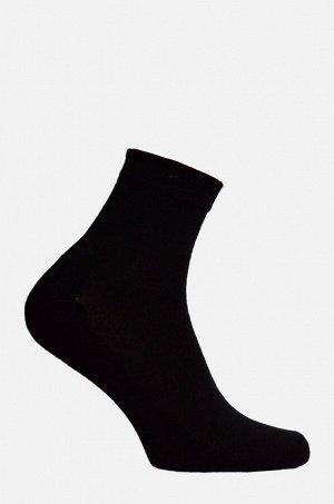 Носки мужские полумахра черный