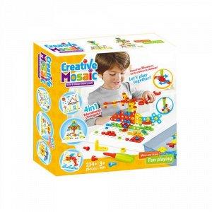 Детский конструктор Creative Mosaic 234 детали