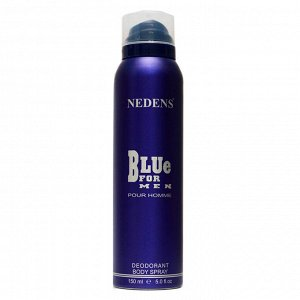 Дезодорант Nedens Blue For Men Pour Homme deo 150 ml