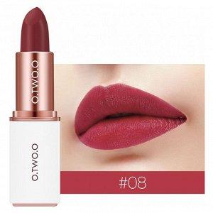 Помада O.TWO.O Matte Lipstick №8 3.8 g