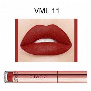 Блеск для губ O.TWO.O Liquid Matte Lip Lacquer № VML11 4 ml