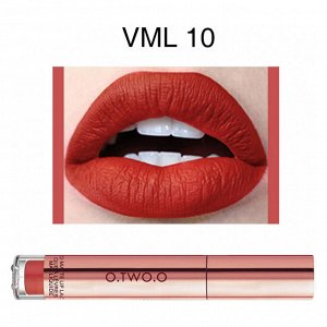 Блеск для губ O.TWO.O Liquid Matte Lip Lacquer № VML10 4 ml