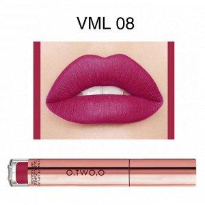 Блеск для губ O.TWO.O Liquid Matte Lip Lacquer № VML08 4 ml