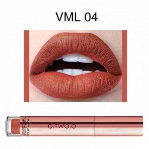 Блеск для губ O.TWO.O Liquid Matte Lip Lacquer № VML04 4 ml