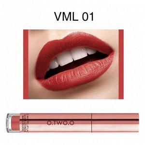Блеск для губ O.TWO.O Liquid Matte Lip Lacquer № VML01 4 ml