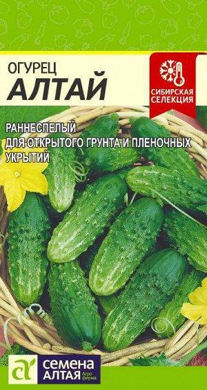 Огурец Алтай/Сем Алт/цп 0,5 гр. Сибирская Селекция!