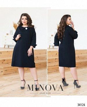 Платье №135-черный