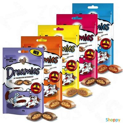 Domosed.online - Товары для животных   — Сухой корм для кошек DREAMIES. Э — Корма