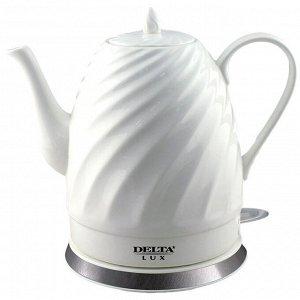 Чайник электрический 1500 Вт 1,5 л  LUX DL-1238 белый