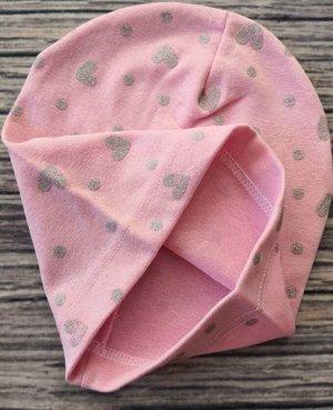 Шапка для девочки. Цвет светло-розовый.