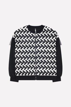 Куртка для девочки Crockid КБ 300840 черный к17