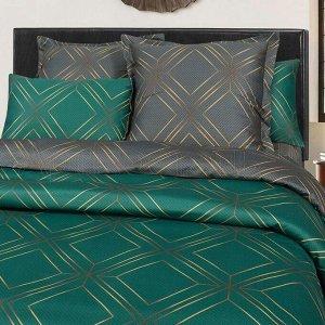 Постельное белье - Сатин Луи 2-спальный с Евро простыней (молния)