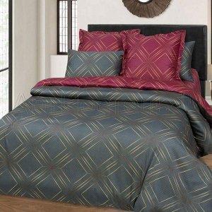 Постельное белье - Сатин Анри 2-спальный с Евро простыней (молния)