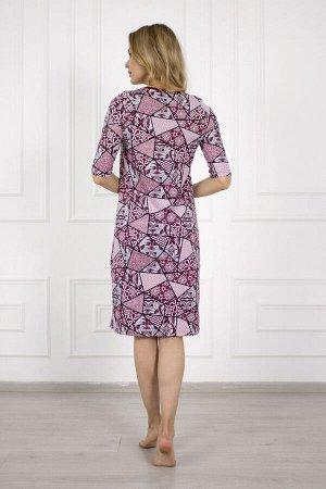 Платье 674 бордо