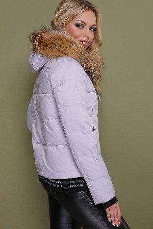 Caramellа + IT ELLE - Куртка 18-132 (фиолетовый)