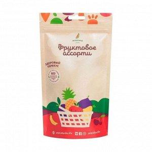 Здоровый фруктовый перекус из фруктового ассорти, зеленика, 20г