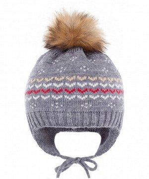 Зимняя шапка с ушками