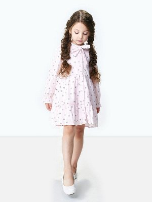 Платье (98-122см) UD 6252(2)св.роз ромашки