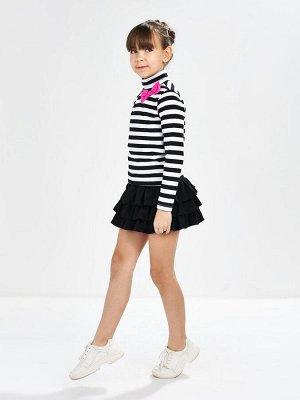 Комплект для девочки (122-146см) UD 0418/0459(2)черн