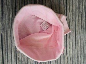 Шапка для девочки. Цвет светло-розовый