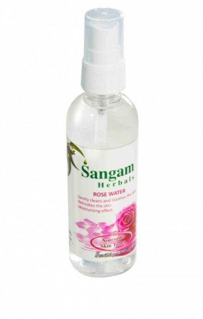 Sangam.Аюрведическая продукция для здоровья и красоты! — Огуречная и розовая вода — Увлажнение