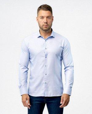 Отличные рубашки - голубой, фиолетовый