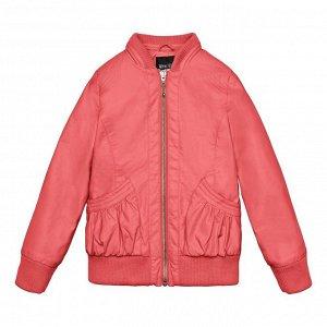 . Куртка детская для девочек коралловый