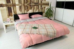 Комплект постельного белья GOCHU Solido set K розовый