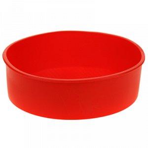 """Форма силиконовая для выпекания """"Вафелька"""" д20см h6см"""