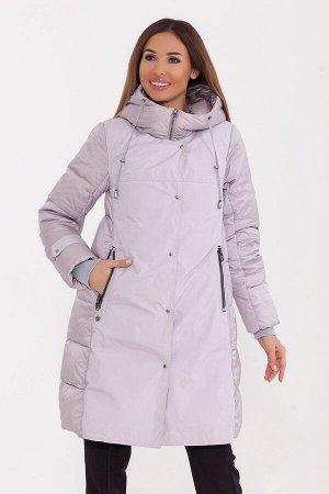 #77252 Пальто Серо-сиреневый