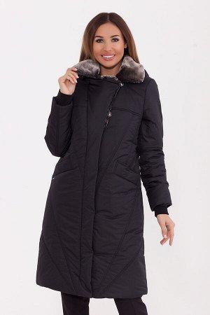 #77260 Пальто Черный