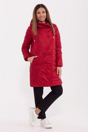 #77271 Пальто Красный