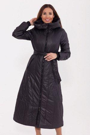 #77280 Пальто Черный