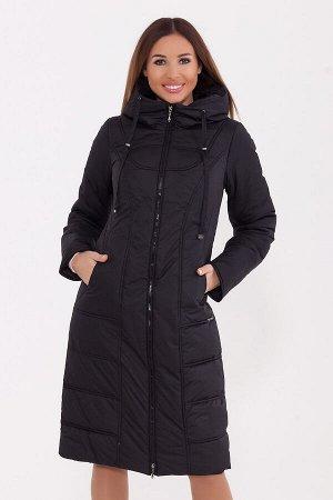 #77283 Пальто Черный