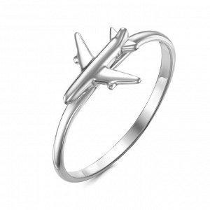 """Серебряное кольцо """"Самолетик"""" - 965"""