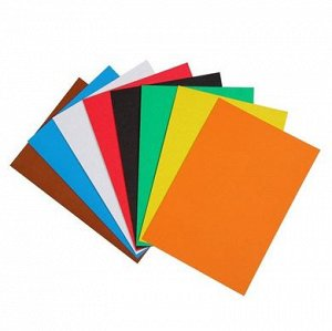 """Картон цветной """"Enhantimals"""", 8 листов, 8 цветов, арт.88686-90009"""