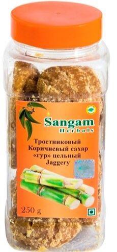Sangam.Аюрведическая продукция для здоровья и красоты! — Сахар тростниковый коричневый — Витамины, БАД и травы