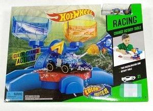 Набор Hot Игровой набор  Coor change action- это МЕГА крутая игрушка! Машинка может менять цвет от холодной или теплой воды!  Ваш ребенок будет рад такому подарку! Размер 28*38