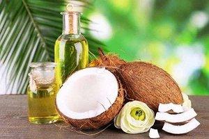 Масло кокосовое 100% первый холодный отжим пластиковая бутылка