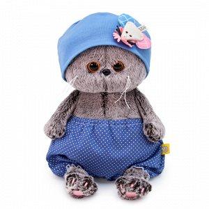 Игрушка мягк. Басик Baby  в шапочке с мышкой ,20 см