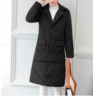 Длинная утепленная куртка