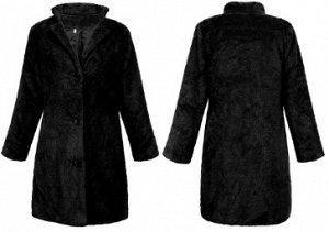 Пальто Пальто, Материал: полиэстер. Размер (рукав, бюст, длина см): S (59, 102, 95 см), M (60, 106, 96 см), L (61, 110, 97 см), XL (62, 104, 98 см)