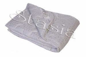 Одеяло Лебяжий пух ( пл.300) - Тик 100% п/э