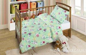Набор детский (одеяло 110*140, подушка 40*60)