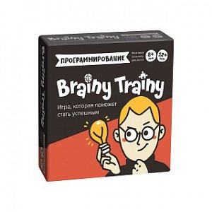 Игра-головоломка BRAINY TRAINY УМ268 Программирование